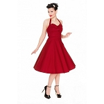 Myrtle Red Party Dress